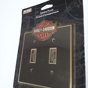 HARLEY DAVIDSON Double Wall Switchplate NWT
